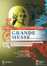 Grande Messe en Ut  de Mozart