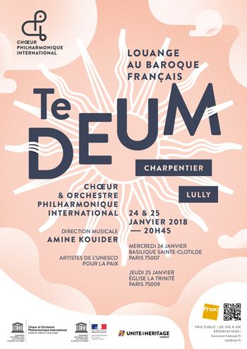 Te Deum de M.A Charpentier et Te Deum de JB Lully